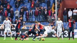 Гредите и ВАР спряха Фиорентина за победа в Генуа