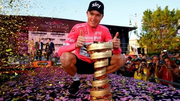 Крис Фруум няма да участва в Обиколката на Италия