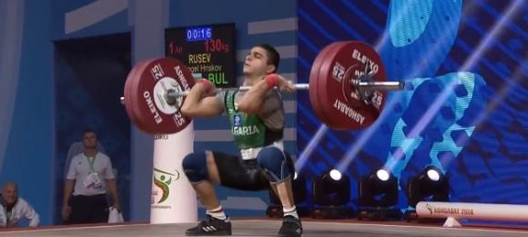 Българските щанги все пак с медал от световното за мъже в Ашхабад