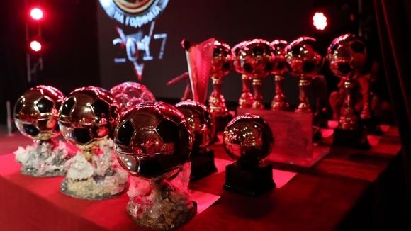 """Кой ще стане """"Футболист на годината""""? Гледайте в Sportal.bg и Sportal TV"""