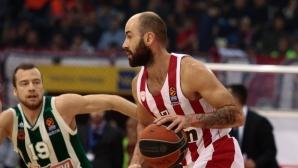 Везенков и Олимпиакос подчиниха Панатинайкос в Евролигата