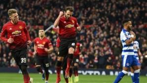 Солскяер вече успя да влезе в историята на Манчестър Юнайтед (видео)