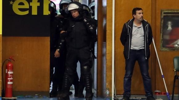 Полицията и жандармерията на крак за дербито в Ботевград