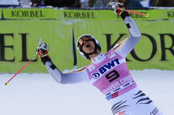 Лишиха Щефан Луитц от първата му победа за СК заради кислородна маска
