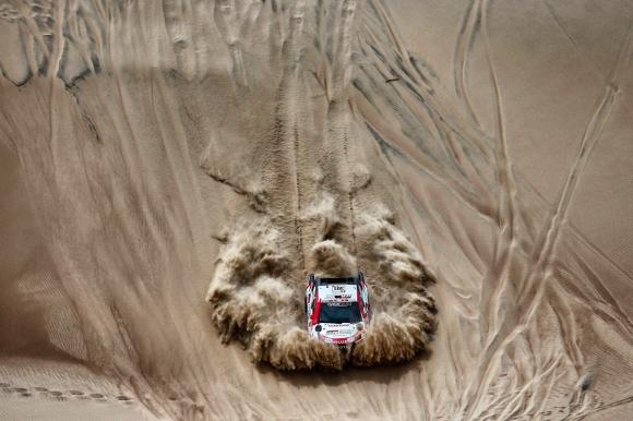 Дакар, ден 4: Ал-Атия увеличи аванса си в генералното класиране, нов лидер при моторите
