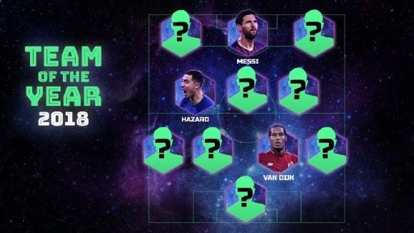 Това е Отборът на годината на УЕФА