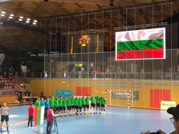 България записа победа в последния си мач от европейските квалификации по хандбал за мъже