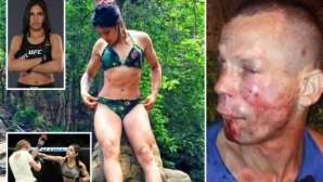 Нападател бе пребит от жена, състезаваща се в UFC