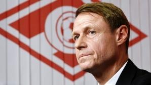 Треньорът на Спартак (Москва) коментира раздялата с Ивелин Попов