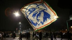 Безредици в Рим след празненствата за годишнината на Лацио