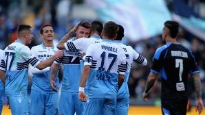 Лацио громи за Купата на Италия