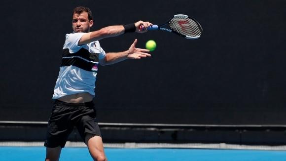 Григор Димтиров започна Откритото първенство на Австралия като №21 в света