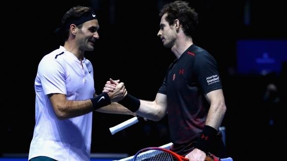 Роджър Федерер: Анди Мъри ще липсва на всички ни