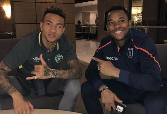 Футболисти на Лудогорец се снимаха със звездата Робиньо