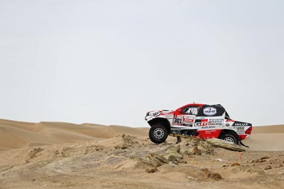 Ал-Атия гарантира първата победа на Toyota на рали Дакар