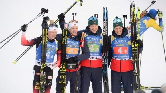 Норвегия спечели мъжката щафета в Руполдинг, България завърши на 12-о място