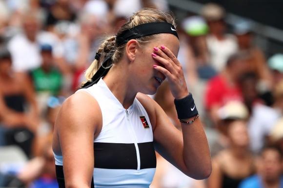 Азаренка се разплака след загуба в Австралия