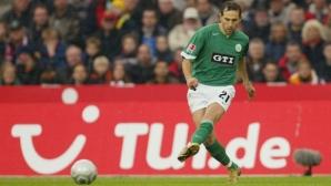 Волфсбург уважи Мартин Петров: Честит юбилей на нашата легенда!