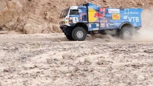 Пилотът на КАМАЗ се извини за инцидента със зрител на рали Дакар