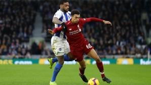 Титуляр на Ливърпул аут за месец заради травма