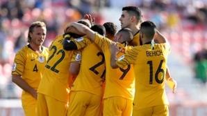 Австралия спечели в последната минута срещу Сирия и се класира за осминафиналите