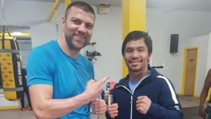 Тервел Пулев почерпи вдъхновение от двама велики боксьори