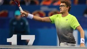 Участниците на Sofia Open: Денис Истомин – винаги готов за битка