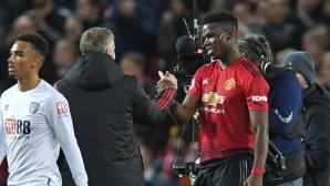 Солскяер убедил Погба да остане в Юнайтед още при първата им среща