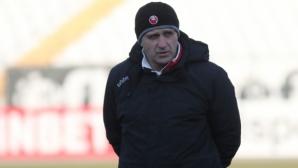 Акрапович доволен от своя отбор след спаринга с Марица
