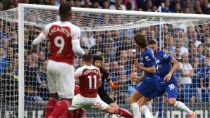 Ударен коефициент за гол в лондонското дерби