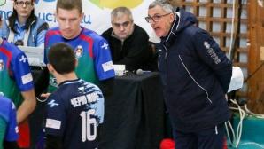 Димитър Пангаров: Една топка бе разликата в мача