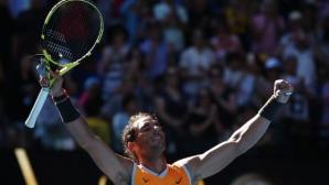 Рафа Надал с лекота стигна 1/4-финалите на Australian Open