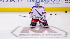 Лундквист се изкачи на 6-о място по победи в НХЛ след успех на Рейнджърс срещу Бостън