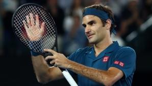 """Федерер: Ще играя на """"Ролан Гарос"""", не ми липсва почивка"""