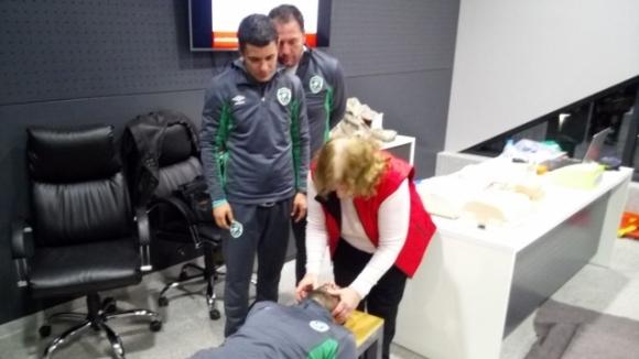 Обучиха треньорите в ДЮШ на Лудогорец да оказват първа помощ