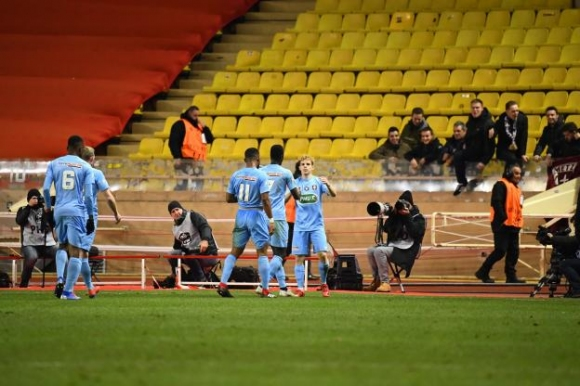 Монако отпадна от турнира за Купата на Франция