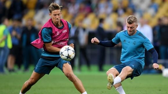 Двама се завърнаха в групата на Реал Мадрид за Купата на Краля