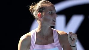Плишкова пред Sportal.bg: Понякога имаш лесни мачове срещу силни тенисисти