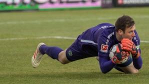 Вратар постави нов рекорд в Бундеслигата