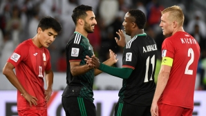 ОАЕ се класира за четвъртфиналите след трудна победа над Киргизстан