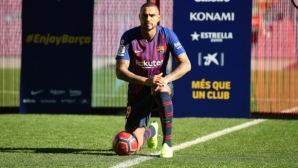 Официално: Барселона представи Кевин-Принс Боатенг