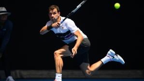 Три позиции спад за Григор Димитров след Australian Open