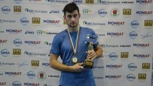 Донев е шампион на България в зала