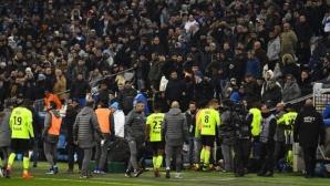 Скандал беляза загуба на Олимпик Марсилия