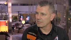 Петър Александров: Никой в България не работи така професионално, както Лудогорец (видео)