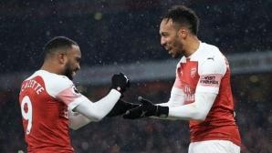 Арсенал отново се разигра след почивката (видео)