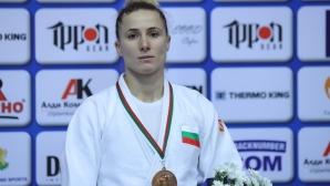 Ивелина Илиева спечели бронз на Европейската отворена купа по джудо в София