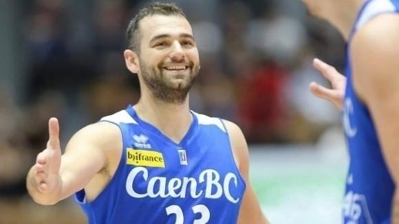 Павел Маринов отбеляза 12 точки при победа на Каен