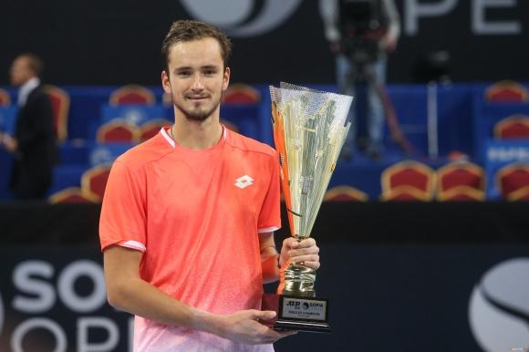 Даниил Медведев е шампионът в София за 2019-а!