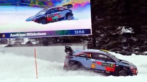Вижте как WRC отборите се подготвят за снежното рали Швеция (видео)